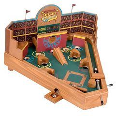 Circa Baseball Pinball Game by