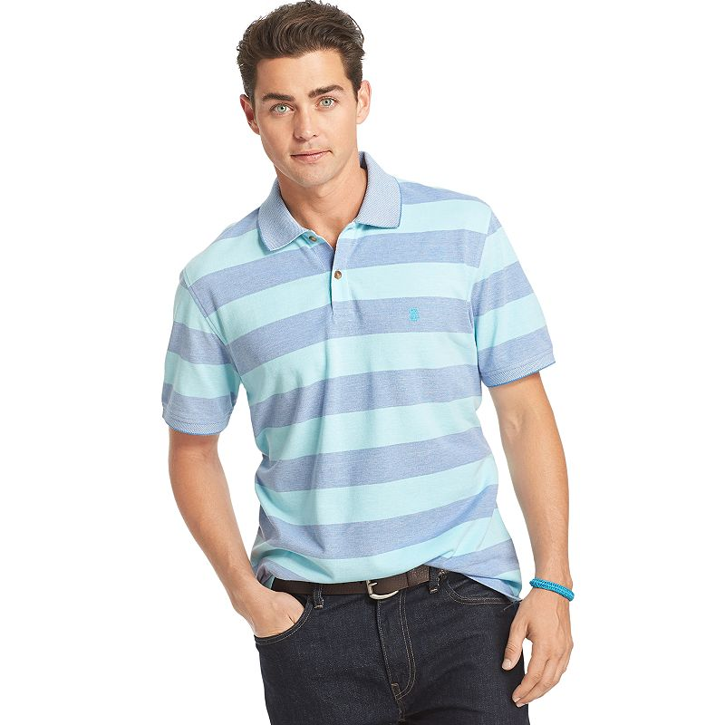 Men's IZOD Oxford Rugby-Striped Polo
