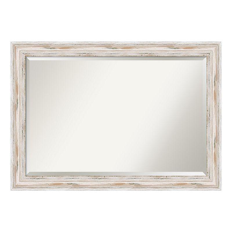 Alexandria Whitewash Wall Mirror