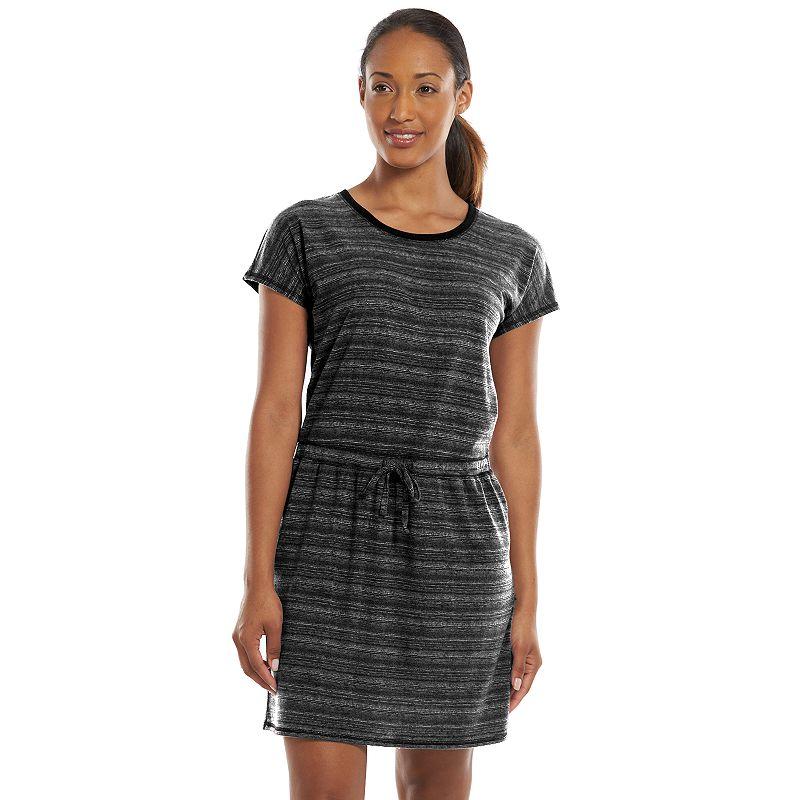 Women's Tek Gear® DRY TEK Shirred Scoopneck T-Shirt Dress