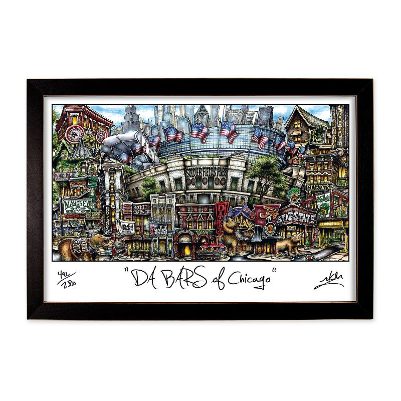 pubsOf Chicago Framed Wall Art