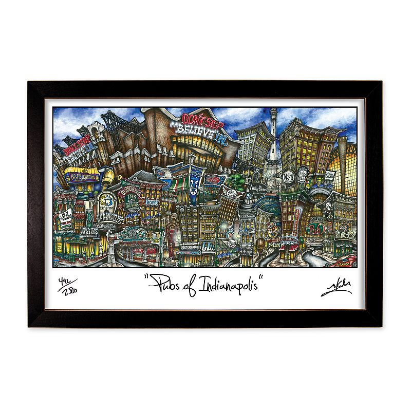 pubsOf Indianapolis Framed Wall Art
