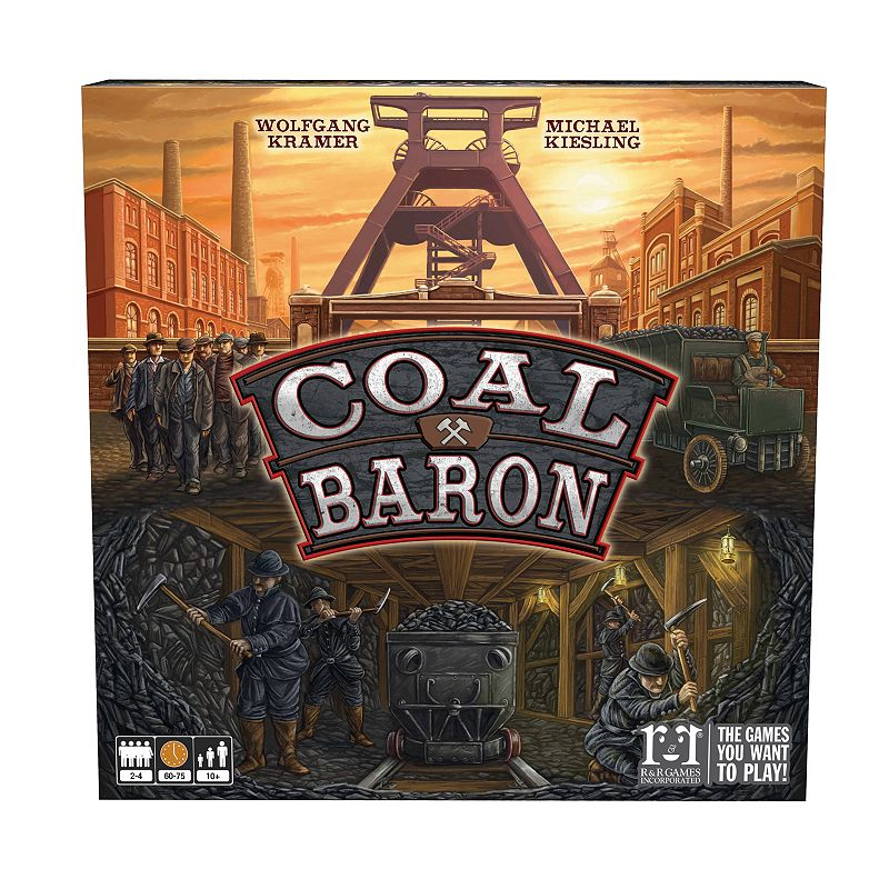 R&R Games Coal Baron Game