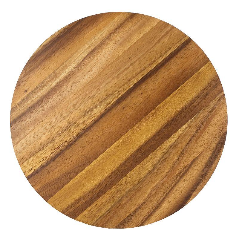 Ironwood Gourmet Acacia Wood Circle Chopping Board