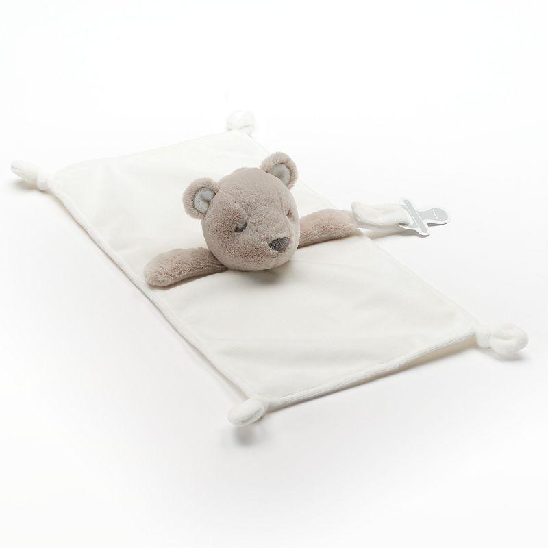 Carter's Animal Plush Security Blanket & Pacifier Holder