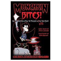 Munchkin Bites Card Game by Steve Jackson Games