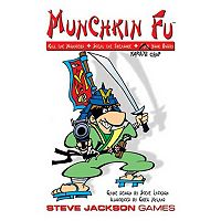 Munchkin Fu Card Game by Steve Jackson Games