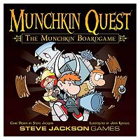 Munchkin Quest Board Game by Steve Jackson Games
