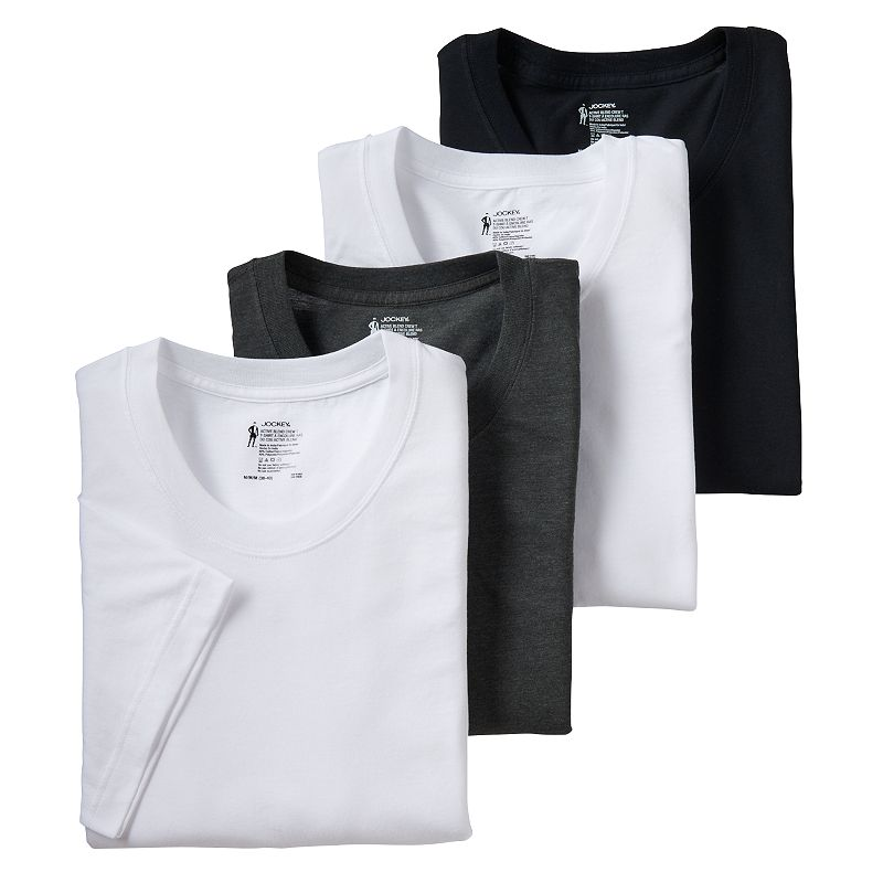 Men's Jockey 4-pack Active Blend Performance Tees