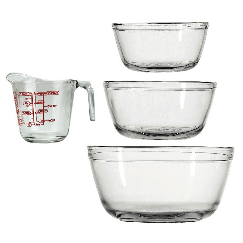 Fox Run 4-pc. Measuring Cup & Mixing Bowl Set
