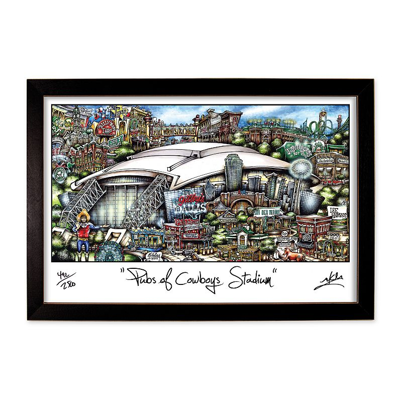 pubsOf Cowboys Stadium Framed Wall Art