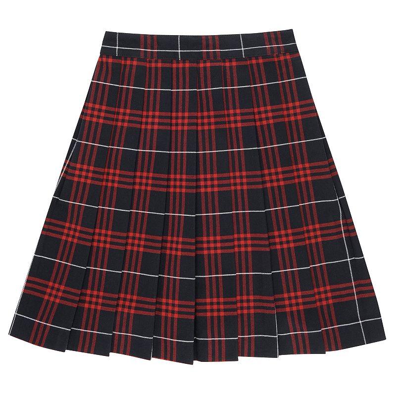 Girls Plus Size French Toast School Uniform Plaid Skirt