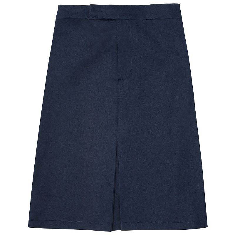 Girls Plus Size French Toast School Uniform Buttoned Pleated Skirt