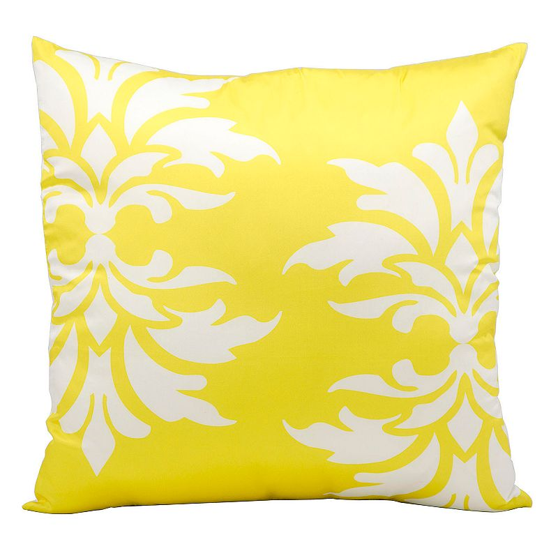Kohls Yellow Throw Pillows : Gray Zipper Throw Pillow Kohl s