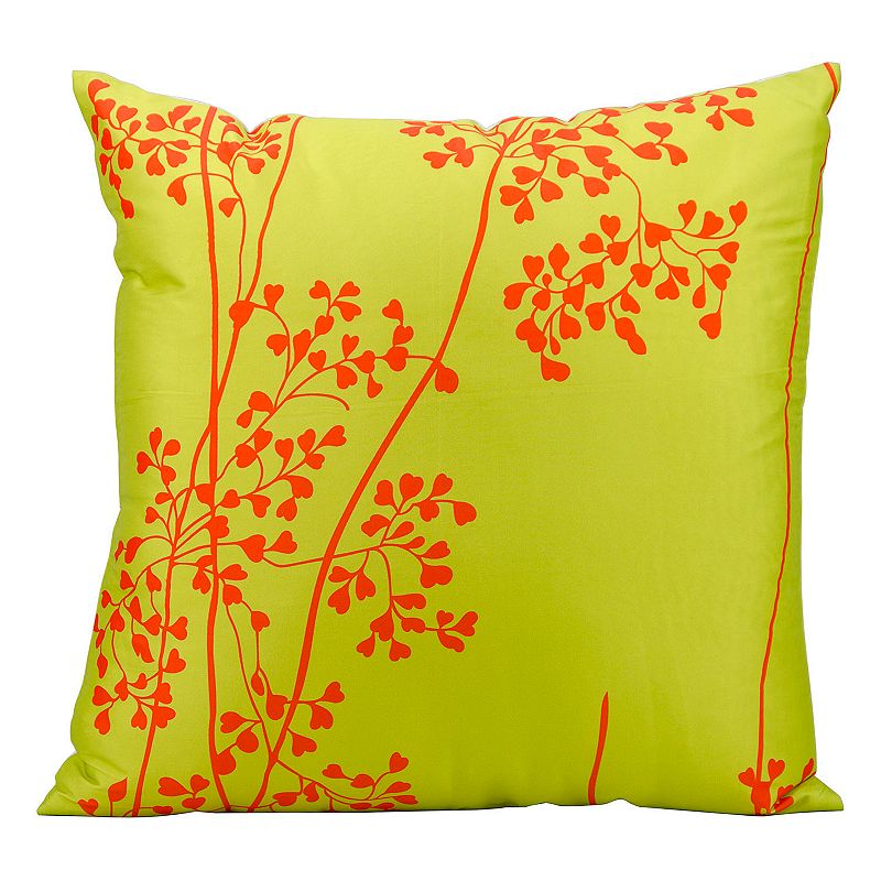 Throw Pillows From Kohls : Mina Victory Branch Outdoor Throw Pillow