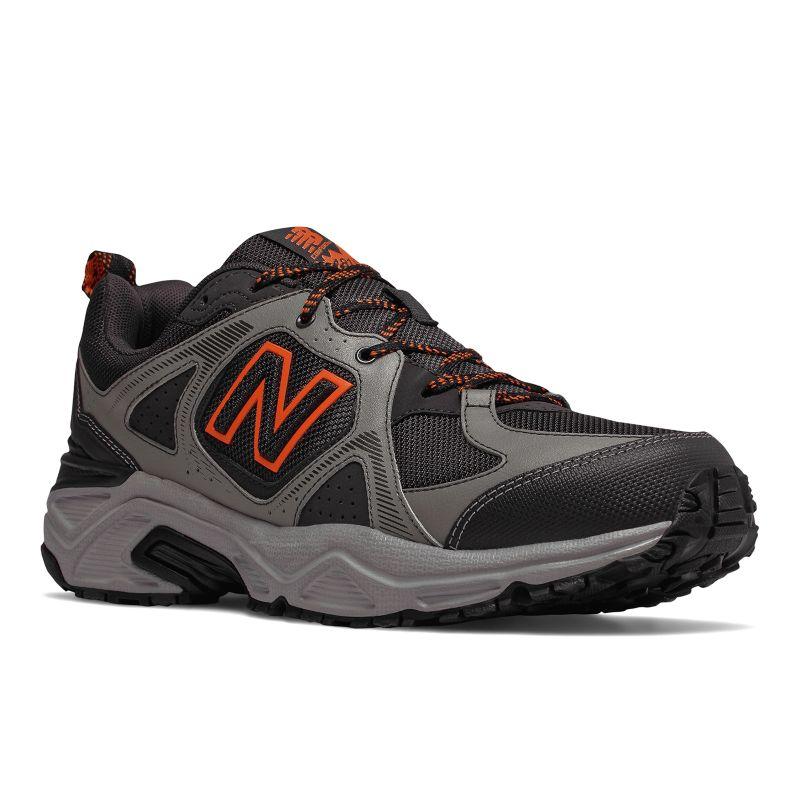New Balance 481 v3 Men's Trail Running Shoes, Size: 7 Ew 4E, Med Grey thumbnail