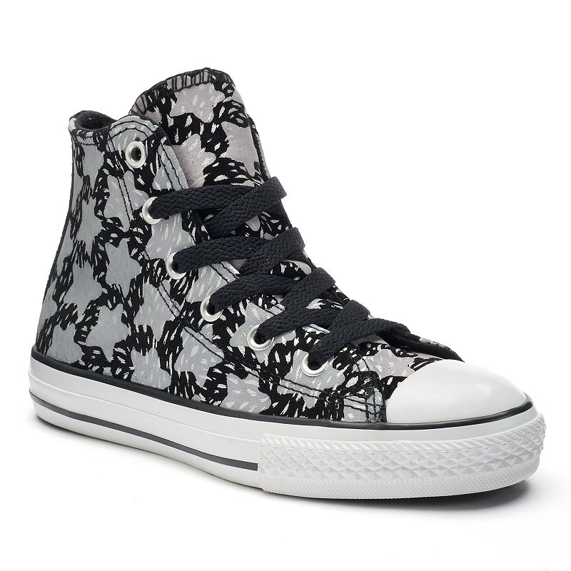 Kid's Converse Chuck Taylor Print High-Top Suede Sneakers