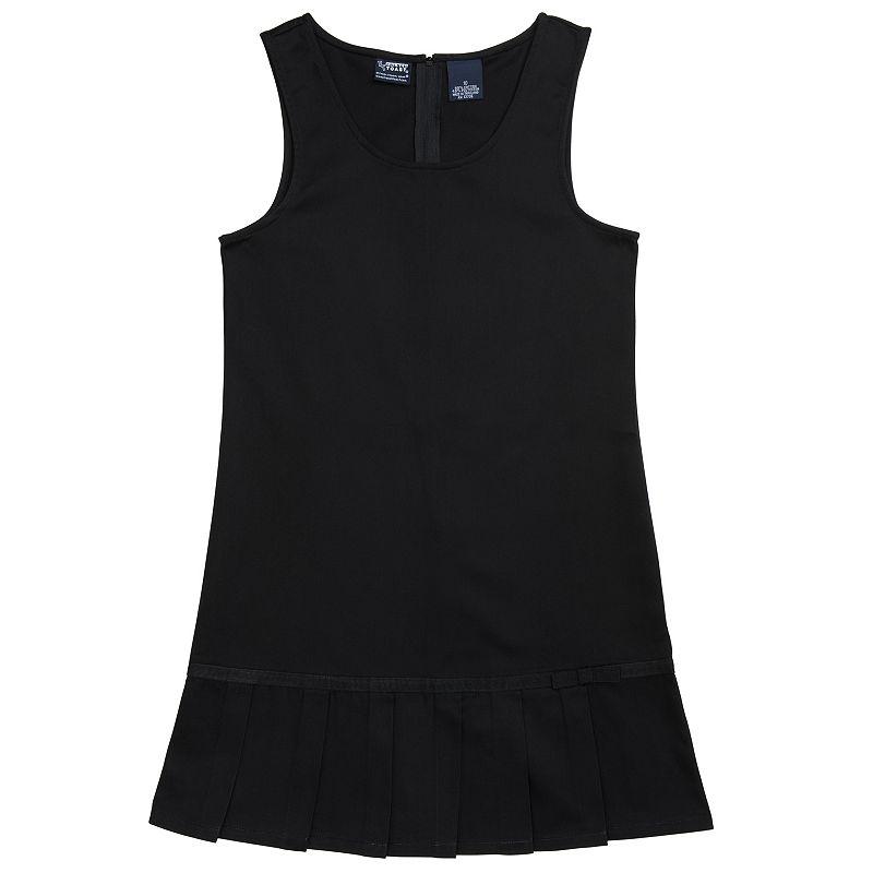 Girls 4-6x French Toast School Uniform Pleated Drop-Waist Jumper
