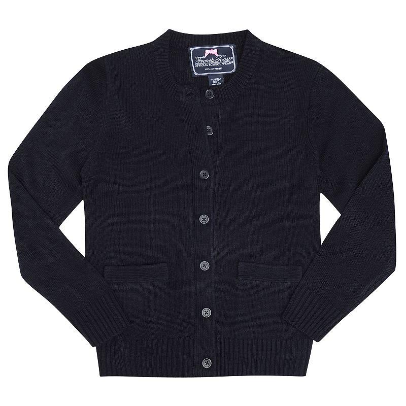 French Toast School Uniform Cardigan - Girls 4-6x