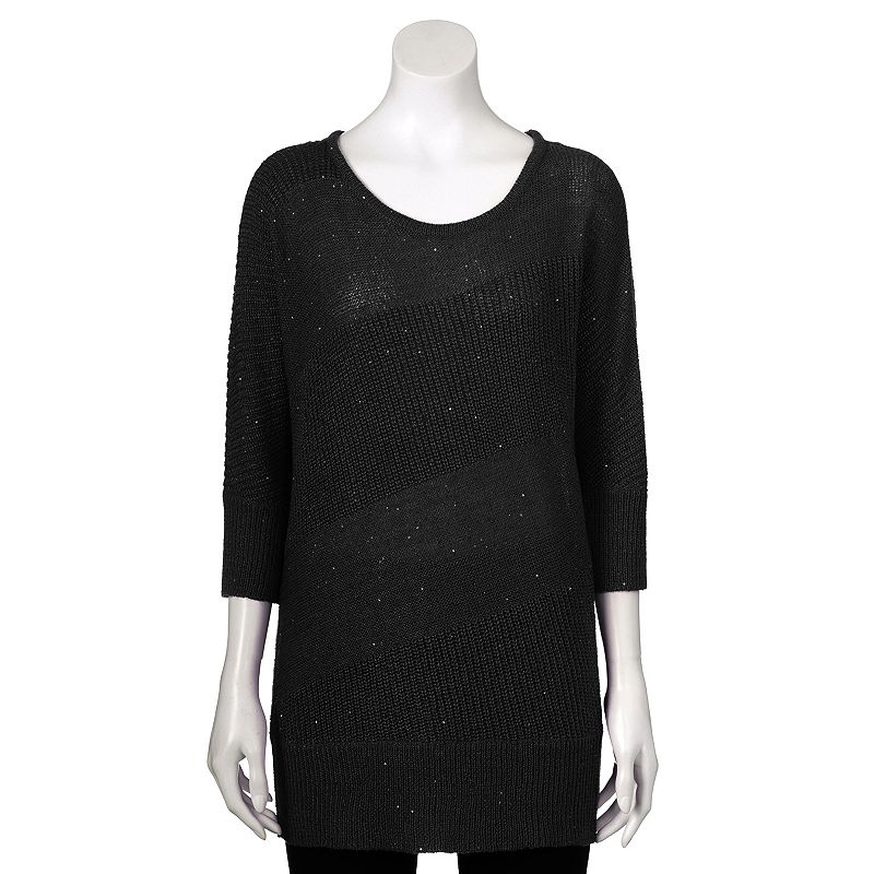 Women's Apt. 9® Sequined Crewneck Sweater
