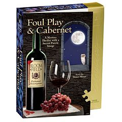 BePuzzled 1000-pc. Foul Play & Cabernet Murder Mystery Jigsaw Puzzle by