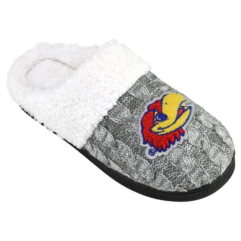 Women's Kansas Jayhawks Letter Slippers