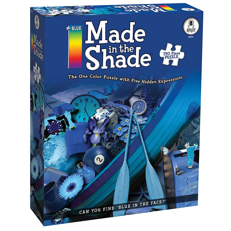 BePuzzled Blue Made in the Shade 750-pc. Jigsaw Puzzle