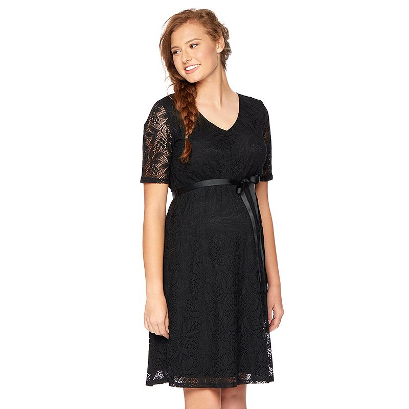 Oh Baby by Motherhood™ Lace Babydoll Dress - Maternity
