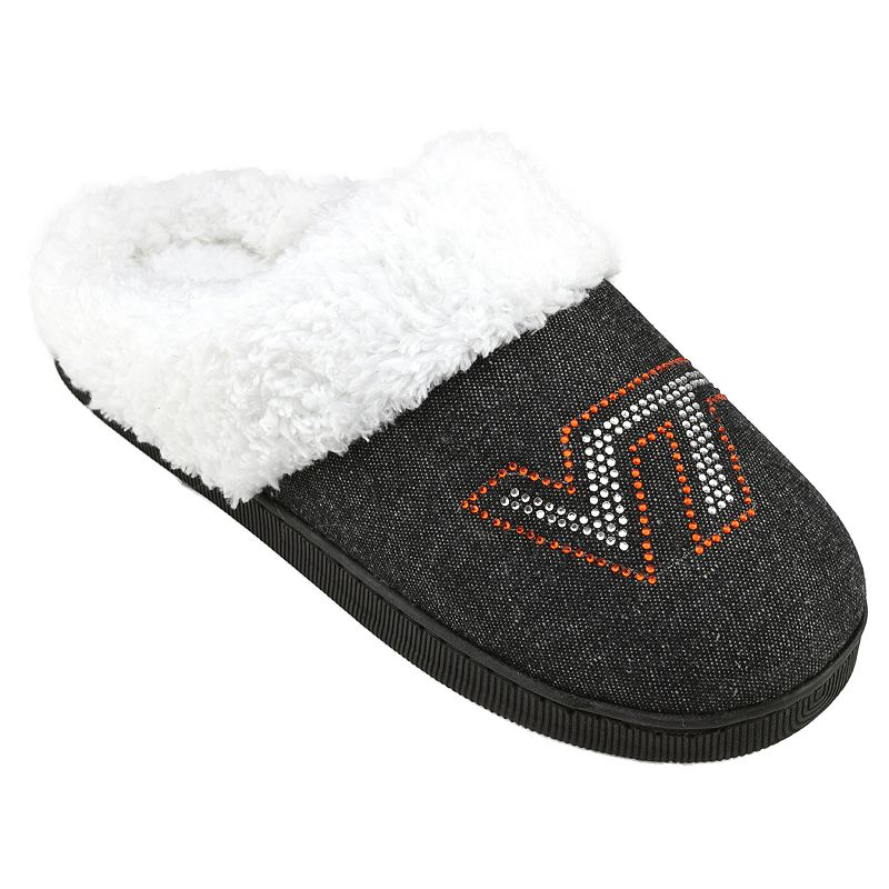 Women's Virginia Tech Hokies Denim Slippers