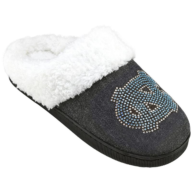 Women's North Carolina Tar Heels Denim Slippers