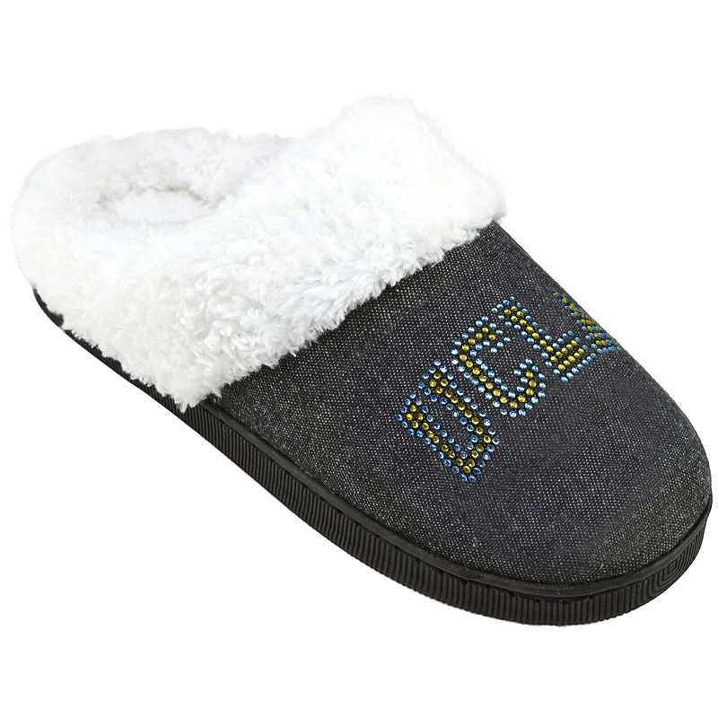 Women's UCLA Bruins Denim Slippers