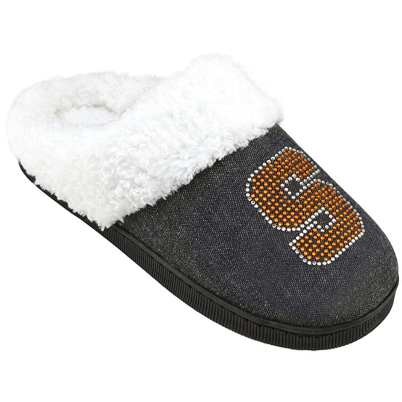Women's Syracuse Orange Denim Slippers