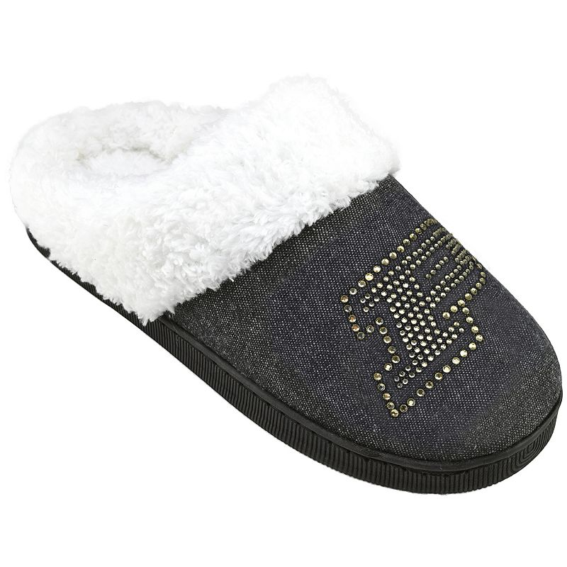 Women's Purdue Boilermakers Denim Slippers