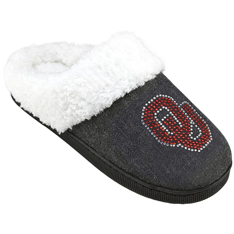 Women's Oklahoma Sooners Denim Slippers