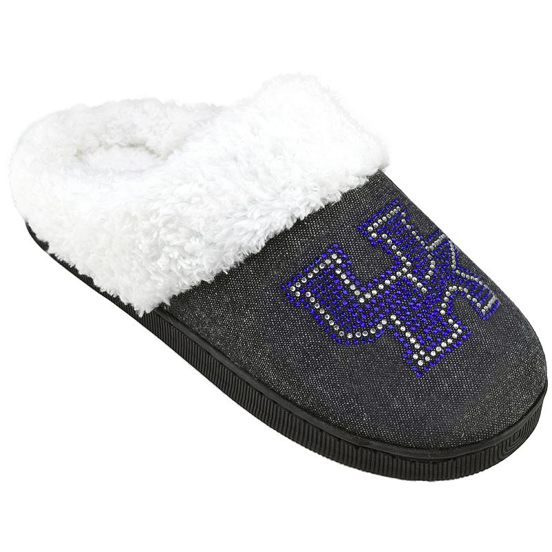 Women's Kentucky Wildcats Denim Slippers