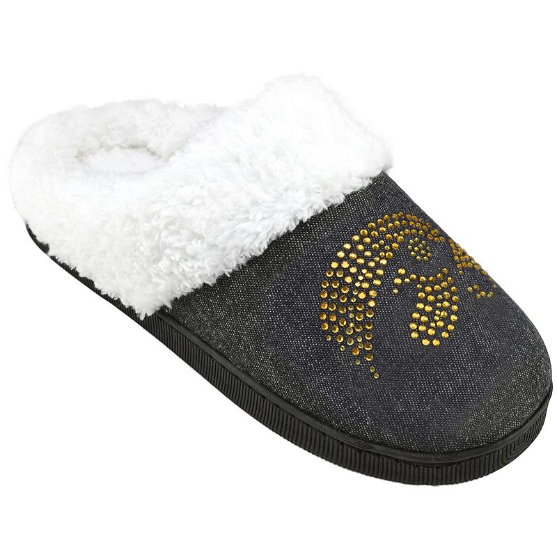 Women's Iowa Hawkeyes Denim Slippers