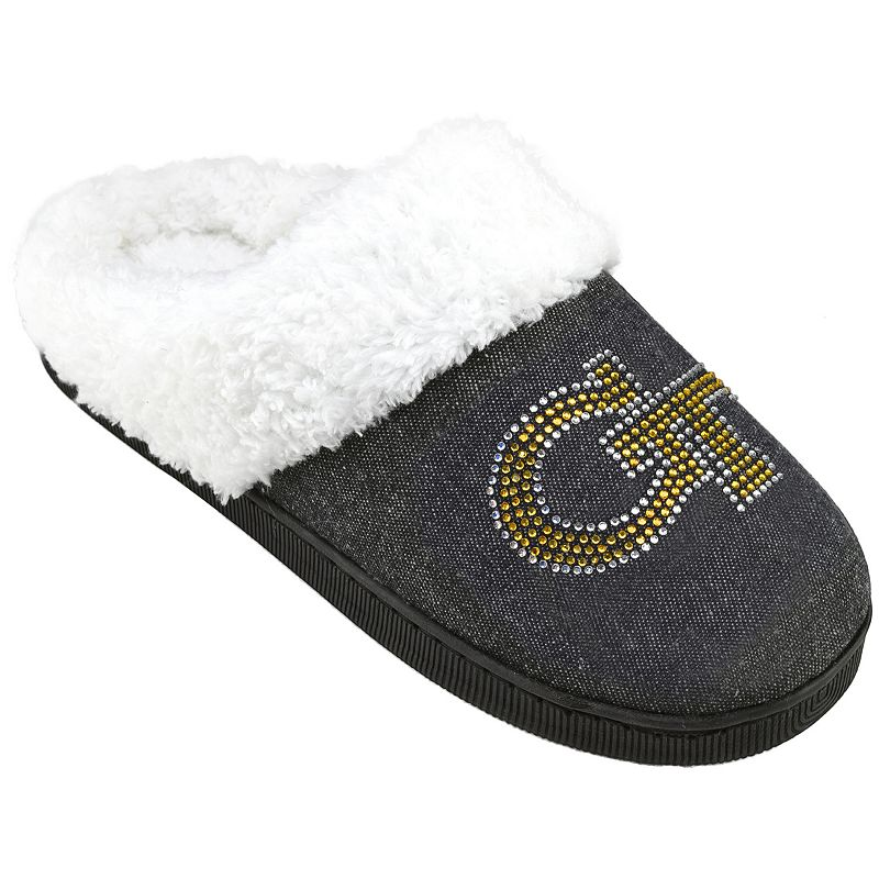 Women's Georgia Tech Yellow Jackets Denim Slippers