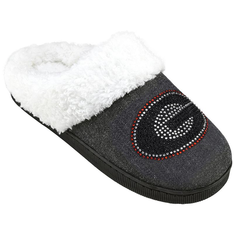 Women's Georgia Bulldogs Denim Slippers