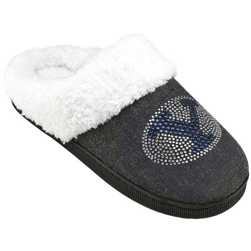 Women's BYU Cougars Denim Slippers