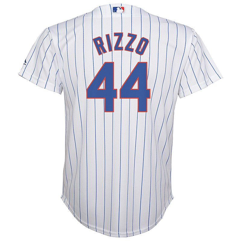 Majestic Chicago Cubs Anthony Rizzo Replica MLB Jersey - Boys 8-20