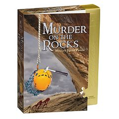BePuzzled 1000-pc. Murder on the Rocks Classic Murder Mystery Jigsaw Puzzle by