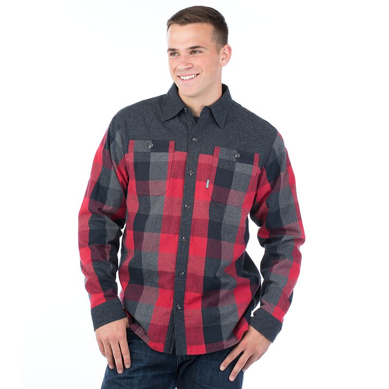 Men's Avalanche Flannel Button-Down Shirt