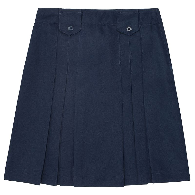 Girls 4-6x French Toast School Uniform Pleated Button Skirt