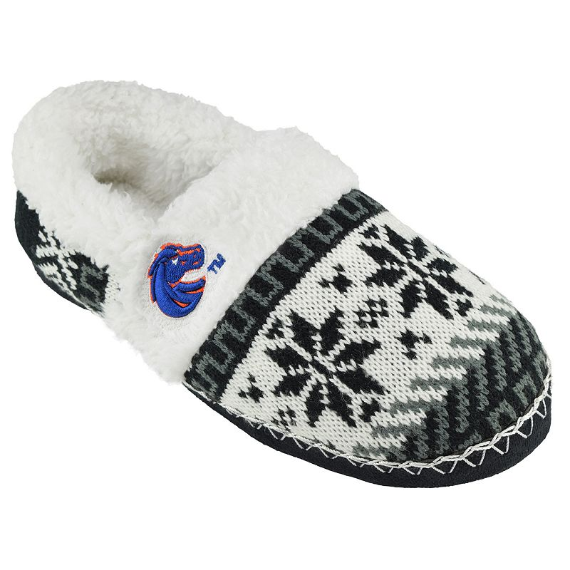 Women's Boise State Broncos Snowflake Slippers