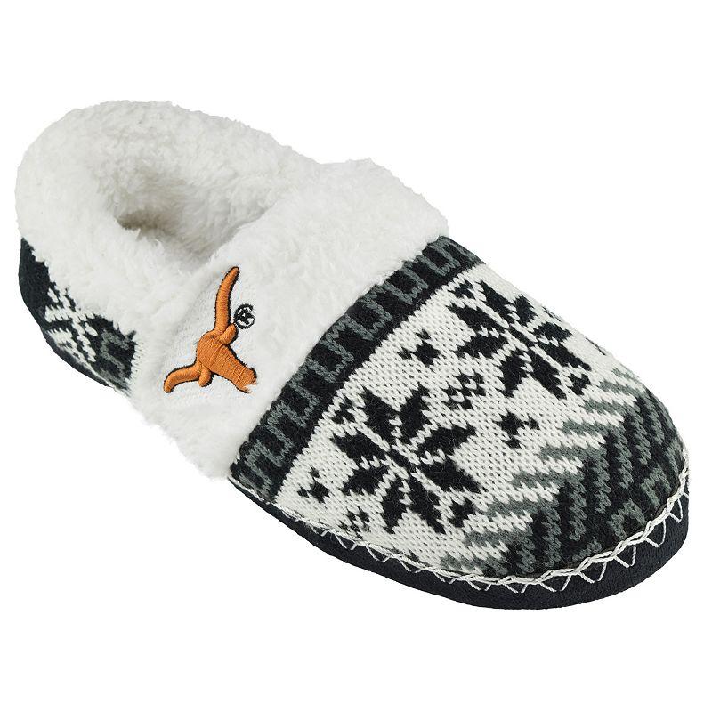 Women's Texas Longhorns Snowflake Slippers