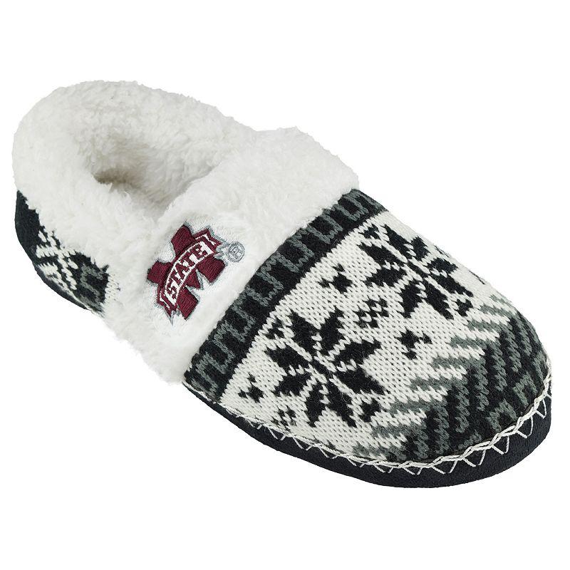 Women's Mississippi State Bulldogs Snowflake Slippers