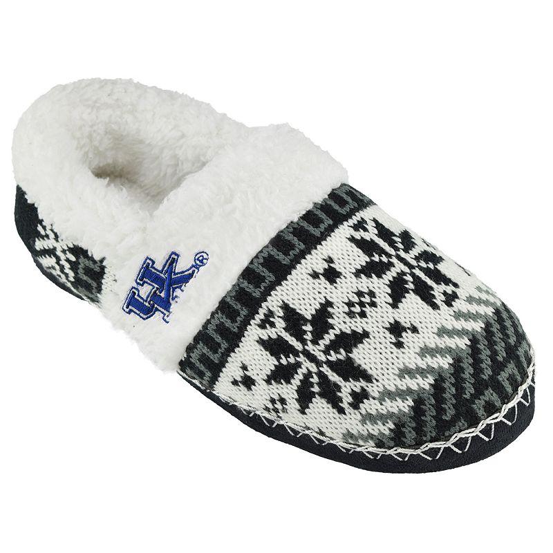 Women's Kentucky Wildcats Snowflake Slippers