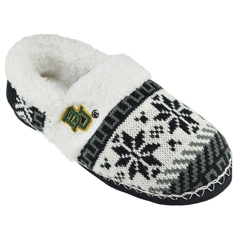 Women's Baylor Bears Snowflake Slippers