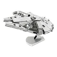 Star Wars Millennium Falcon Metal Earth 3D Laser Cut Model by Fascinations by