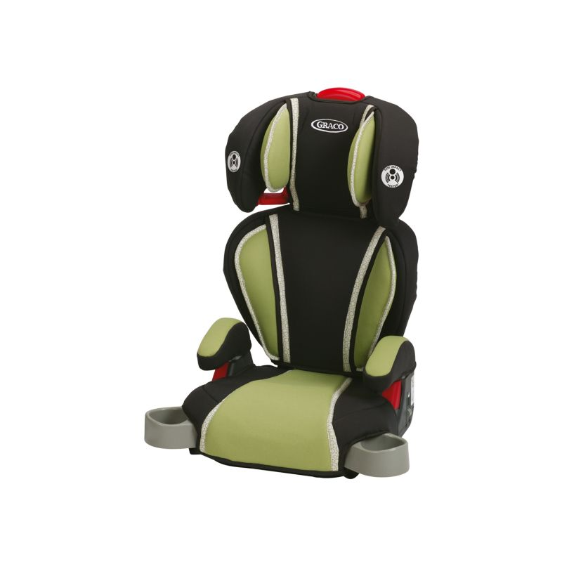 Graco Highback Turbo Booster Car Seat, Green
